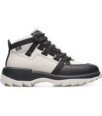 camper helix, sneaker uomo, beige/nero, misura 45 (eu), k300314-002