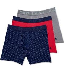 polo ralph lauren men's 3-pk. 4d flex boxer briefs