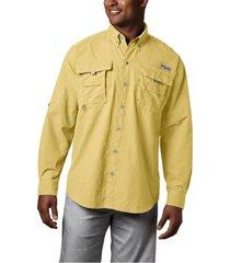 camisa hombre bahama ii ml amarillo columbia