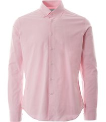 oxford shirt - pink notaral-pnk