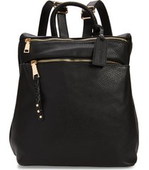 sole society faux leather backpack -