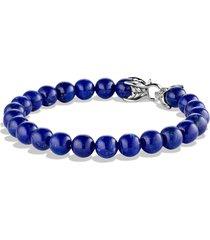 david yurman spiritual beads bracelet, size 8.5 in in lapis lazuli at nordstrom