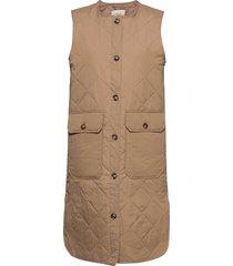 pzelina waistcoat vests padded vests beige pulz jeans