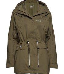 breheimen 2l w jkt outerwear sport jackets light/summer jacket groen bergans