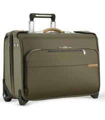 briggs & riley baseline carry-on 2-wheeled garment bag