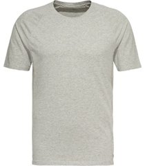 calvin klein, focused fit lounge crewneck t-shirt heather grey