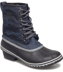 slimpack 1964 shoes boots ankle boots ankle boots flat heel blå sorel