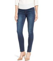 jag jeans nora stretch skinny jeans, size 0p in medium indigo at nordstrom