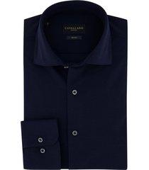 cavallaro donkerblauw overhemd jersey
