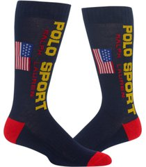 polo ralph lauren men's classic polo sport crew socks