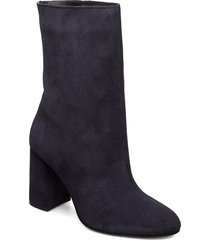 biacandice suede tube boot shoes boots ankle boots ankle boots with heel blå bianco
