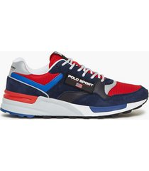 polo ralph lauren athletic sneakers sneakers navy/red