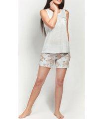 mood pajamas ultra soft blossom short set