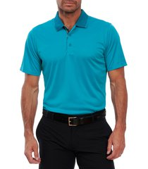 men's robert graham ace polo shirt, size x-large - blue/green