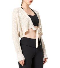 yvette women's soft long- sleeve sweater