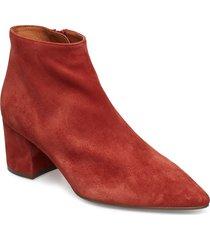 boots 8099 shoes boots ankle boots ankle boots with heel röd billi bi