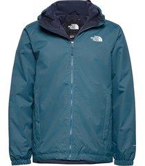 m quest insulated jk outerwear sport jackets blå the north face