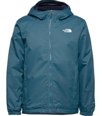 m quest insulated jk outerwear sport jackets blå the north face