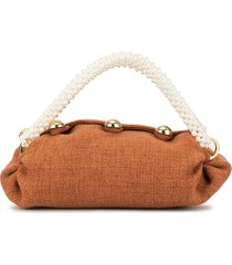 0711 nino small tote bag - brown