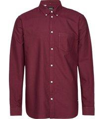 oden shirt skjorta casual röd wesc