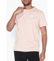 kappa t-shirt s/s auth wollie t-shirts & linnen rosa