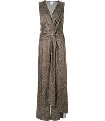 acler doheny jumpsuit - green