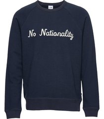 robin sweatshirt 3444 sweat-shirt trui blauw nn07