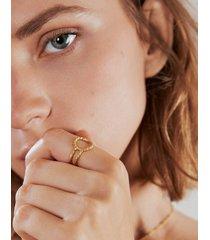 pierścionek pozłacany morocco ii