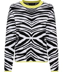 maglione zebrato (nero) - bodyflirt