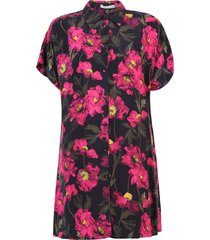 alice + olivia printed shirt dress