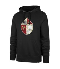 '47 brand san francisco 49ers men's imprint headline hoodie