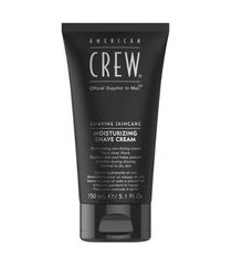 creme hidratante american crew - moisturizing shave cream 150ml