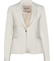 blake night blazer sustainable blazer kavaj creme mos mosh