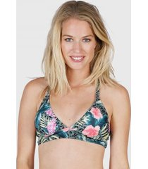 brunotti bikinitop women delphinia vintage green-