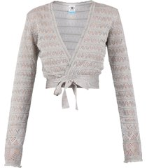 m missoni cropped cardigan