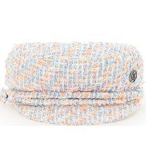 maison michel new abby tweed beret