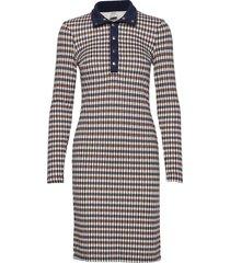 jagger jurk knielengte multi/patroon baum und pferdgarten