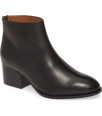 women's seychelles floodplain block heel bootie, size 9.5 m - black