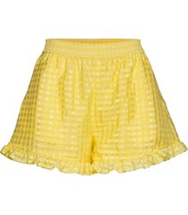 joselyn, 864 gingham poly shorts flowy shorts/casual shorts gul stine goya