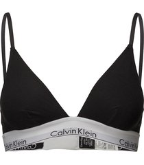 triangle unlined lingerie bras & tops bra without wire svart calvin klein