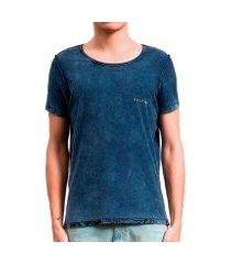 camiseta salt 35g floresta dupla face masculina