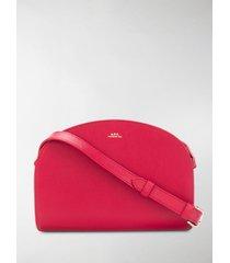 a.p.c. half moon shoulder bag