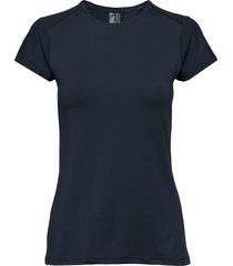 adv essence ss slim tee w t-shirts & tops short-sleeved blå craft