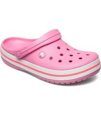 crocband blk shoes summer shoes rosa crocs
