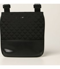 emporio armani shoulder bag emporio armani bag in synthetic leather and fabric