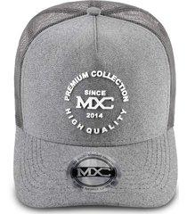 boné mxc original – premium collection cinza