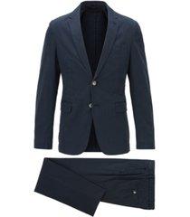 boss men's boss men's hanry/barlowdark blue suit