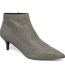 biaamy low cut boot shoes boots ankle boots ankle boots with heel silver bianco