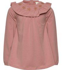 en fant ls t-shirt - oekotex t-shirts long-sleeved t-shirts rosa en fant