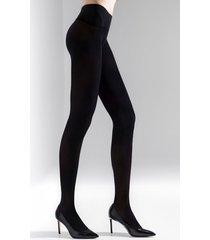 natori revolutionary tights, women's, microfiber, size m/l